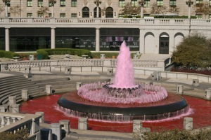 Pink Fountain