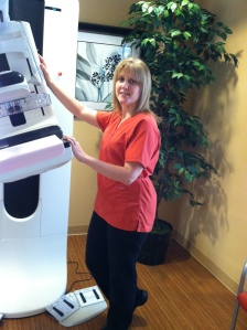 colleen with machine