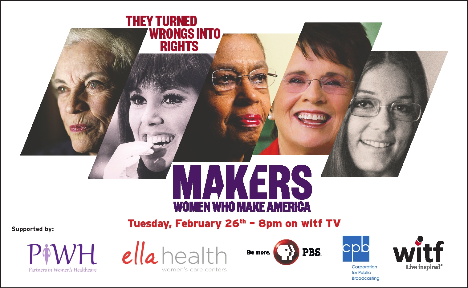 makers women who made america Makers: women who make america accomplishes both these humanist tasks,  making it an extraordinary documentary i found myself—a.