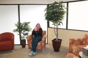 Nancy Johnson lounge