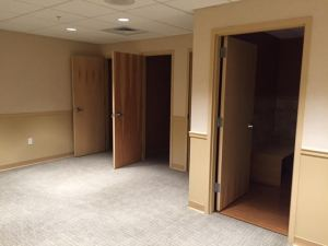 Hagerstown private dressing rooms