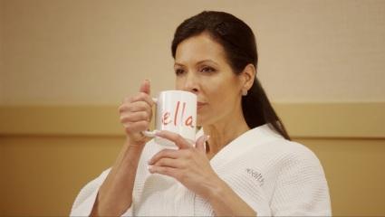 Ella woman coffee photo