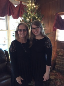 Carmen Bundick with daughter Amanda.